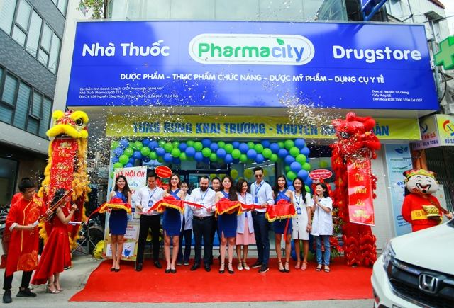 Pharmacity Chuoi nha thuoc