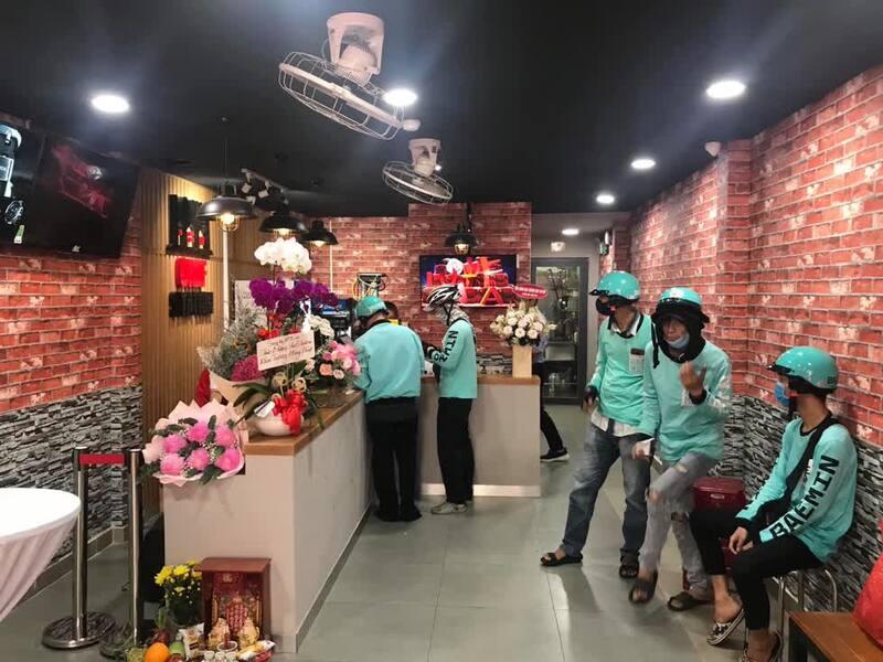 """""""Bếp trên mây"""" đang là xu hướng kinh doanh mới cho ngành F&B tại Việt Nam. Ảnh: FanpageChef Station."""