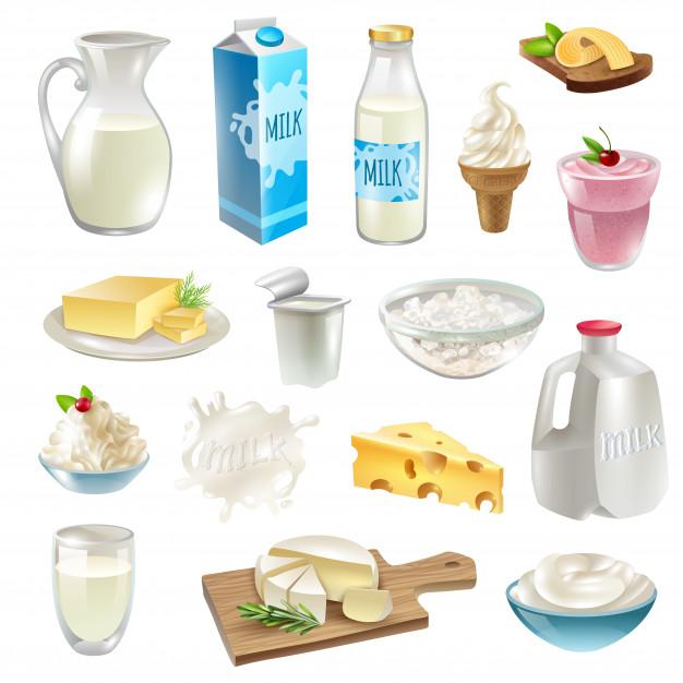 Thị trường Sữa, Kem, Phô mai