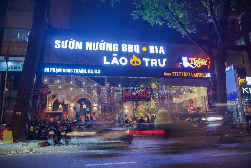 Goi von cong dong Lao Tru BBQ