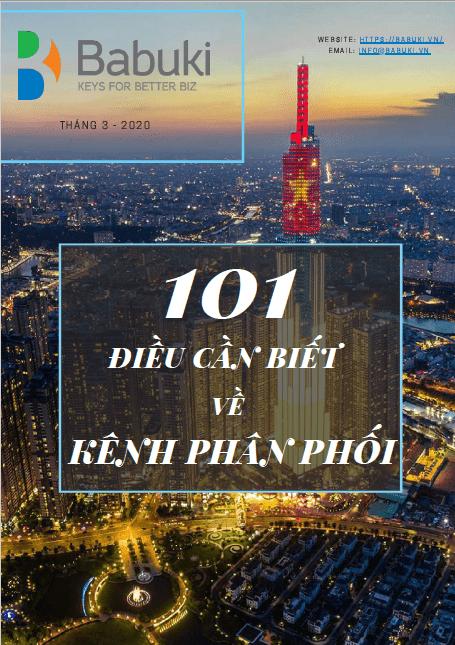 Ebook 101 dieu can biet ve kenh phan phoi - cover