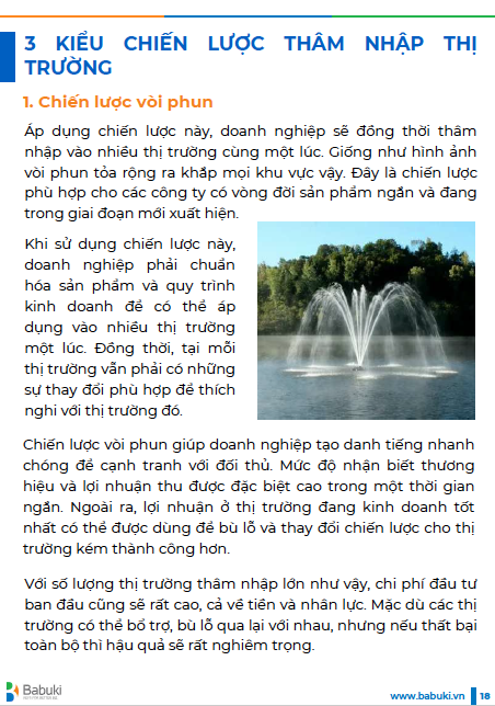 Ebook Chien luoc tham nhap thi truong P2 - trang 18