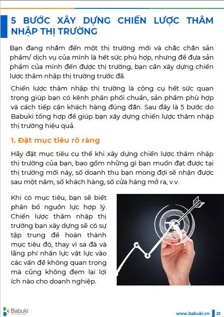 Ebook Chien luoc tham nhap thi truong P2 - trang 21