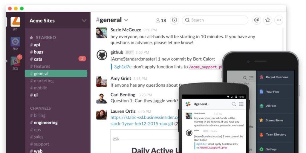 Chiến lược tăng trưởng đột phá của ứng dụng chat nhóm Slack - V04