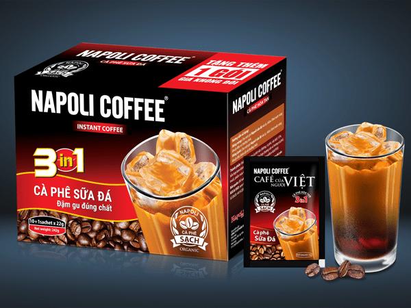 Chủ tịch HĐQT Cà phê Napoli: Mừng vì có nhiều đối thủ chuyên nghiệp - V01